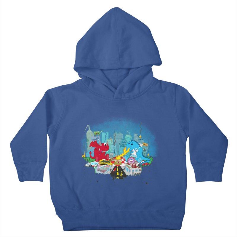 Monster Picnic Kids Toddler Pullover Hoody by Dannomyte's Artist Shop