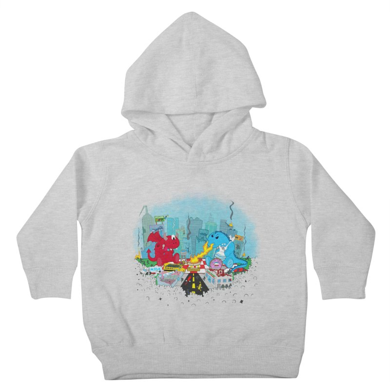 Monster Picnic Kids Toddler Pullover Hoody by Dannomyte's Artist Shop