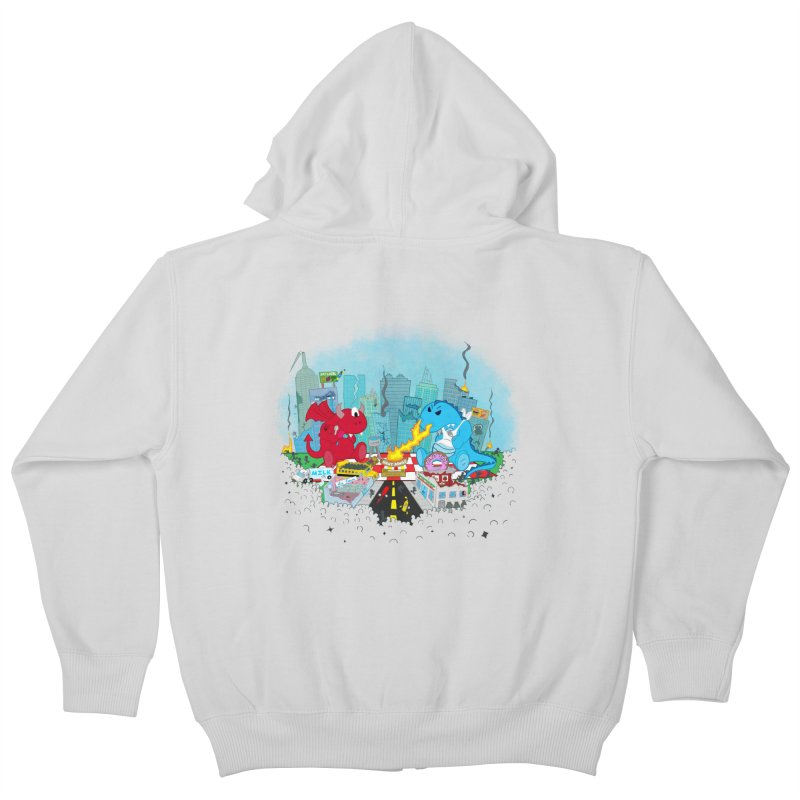 Monster Picnic Kids Zip-Up Hoody by Dannomyte's Artist Shop