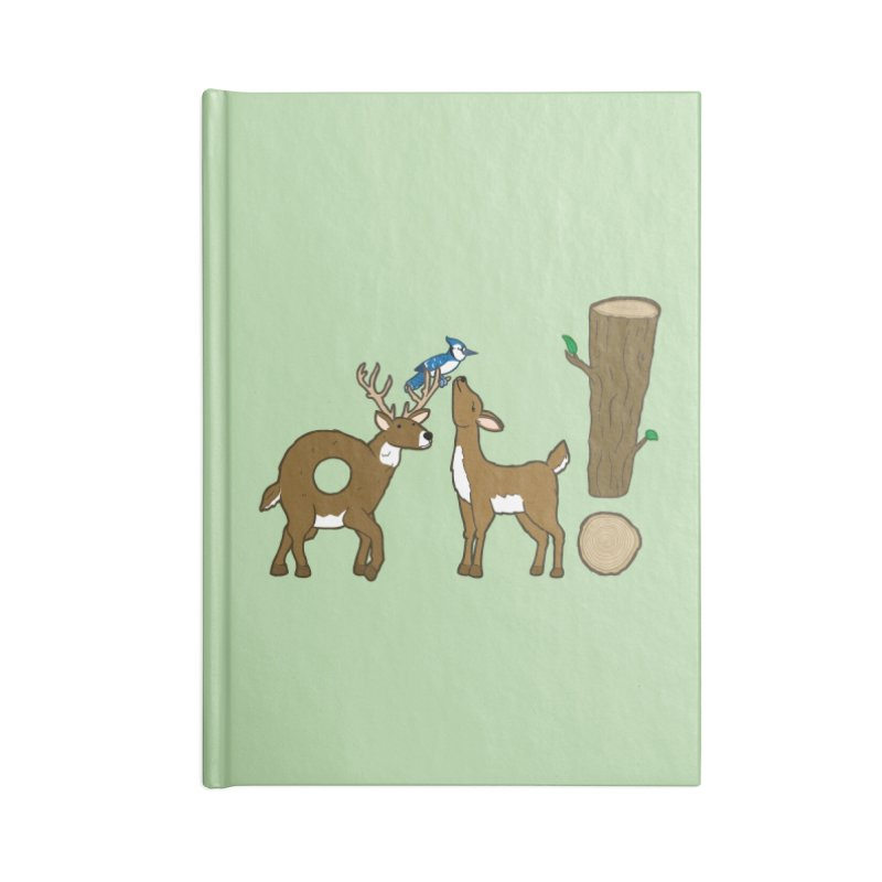 Oh! Deer. Accessories Notebook by Dannomyte's Artist Shop