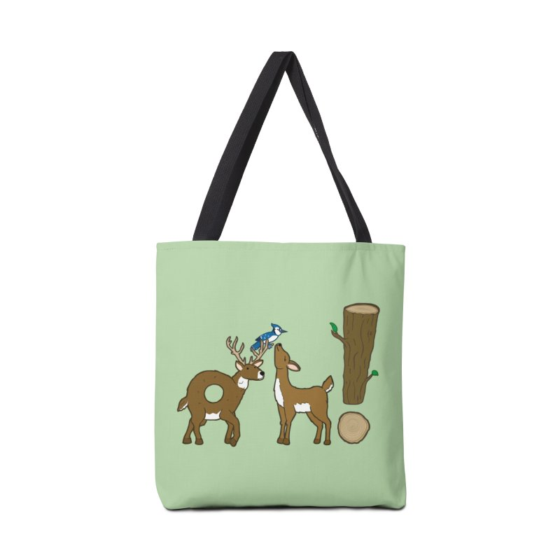 Oh! Deer. Accessories Bag by Dannomyte's Artist Shop