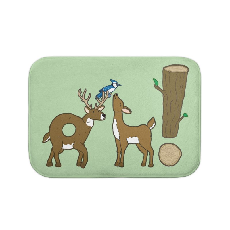 Oh! Deer. Home Bath Mat by Dannomyte's Artist Shop