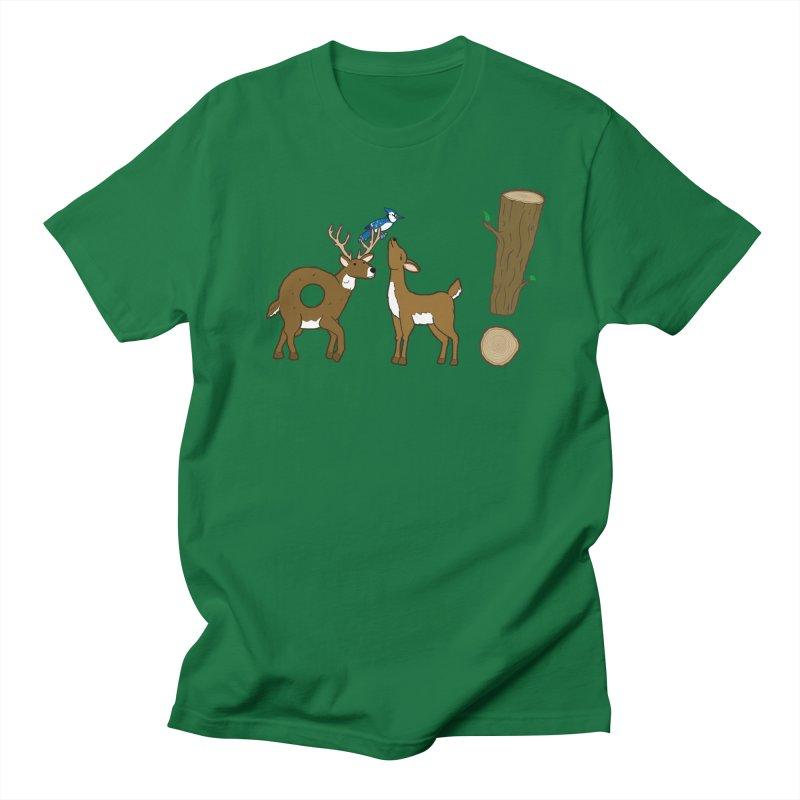 Oh! Deer. Women's Unisex T-Shirt by Dannomyte's Artist Shop