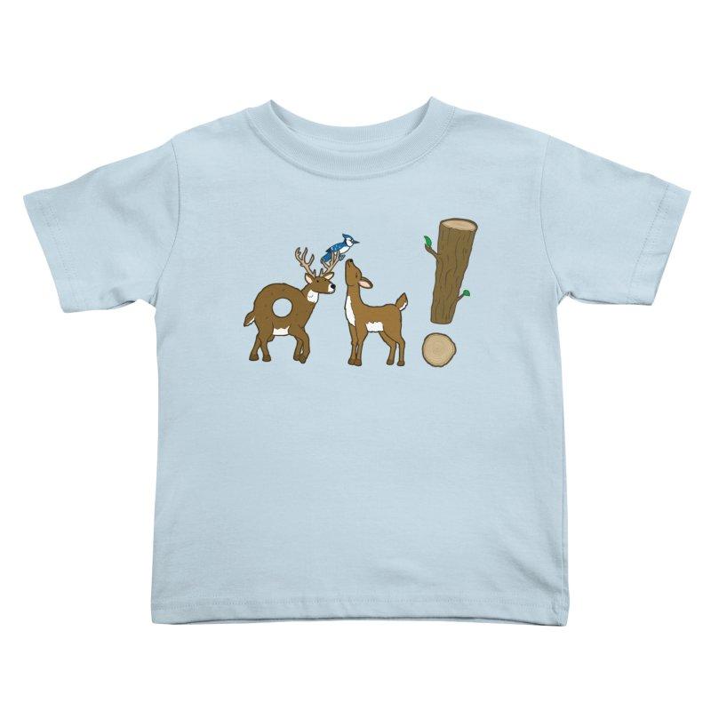 Oh! Deer. Kids Toddler T-Shirt by Dannomyte's Artist Shop
