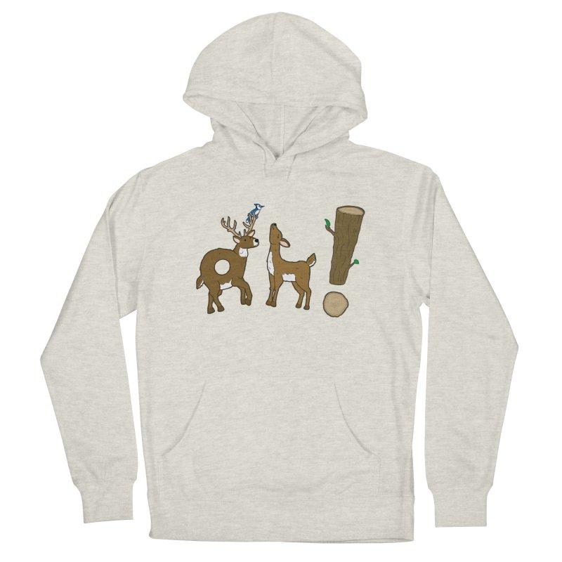 Oh! Deer. Men's Pullover Hoody by Dannomyte's Artist Shop