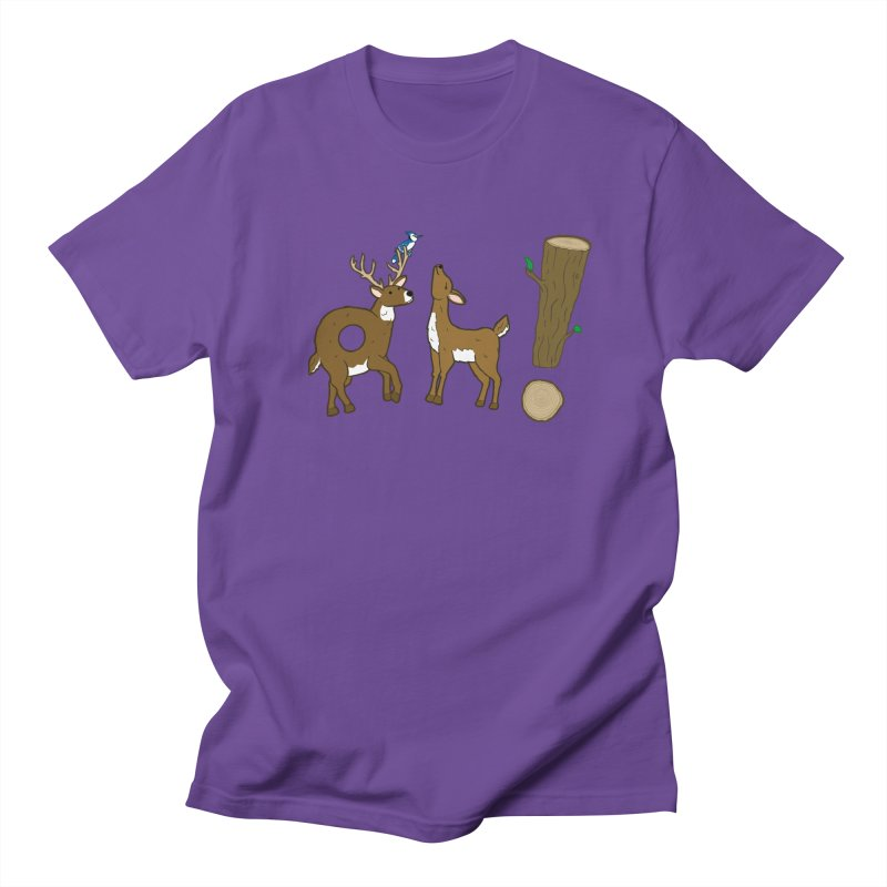 Oh! Deer. Women's Unisex T-Shirt by Dannomyte's Artist Shop