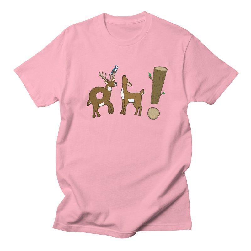 Oh! Deer. Men's T-shirt by Dannomyte's Artist Shop