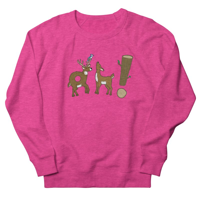Oh! Deer. Men's Sweatshirt by Dannomyte's Artist Shop