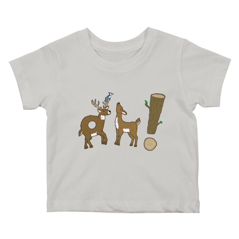 Oh! Deer. Kids Baby T-Shirt by Dannomyte's Artist Shop