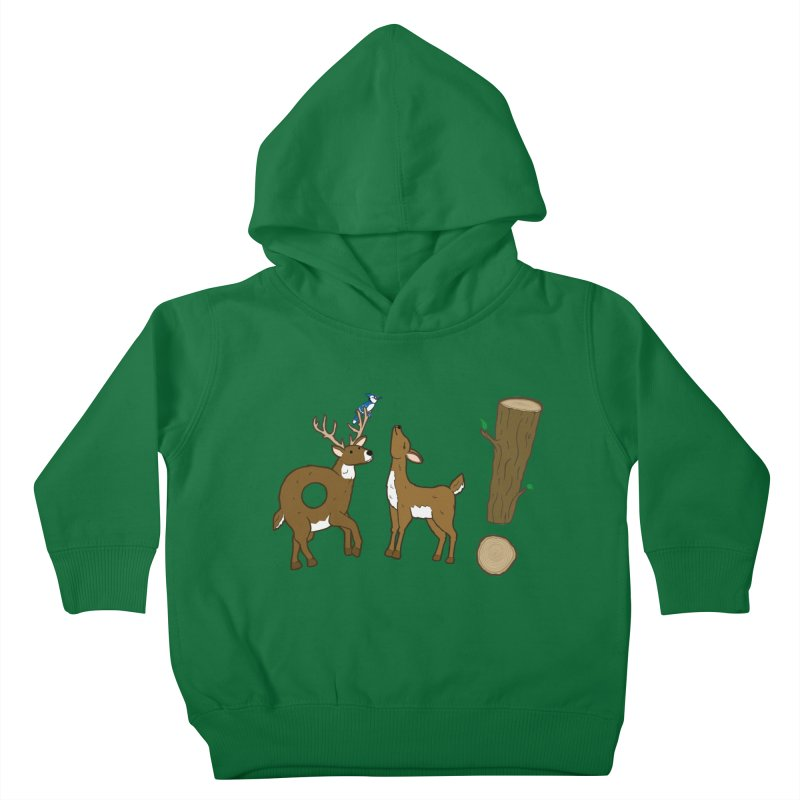 Oh! Deer. Kids Toddler Pullover Hoody by Dannomyte's Artist Shop