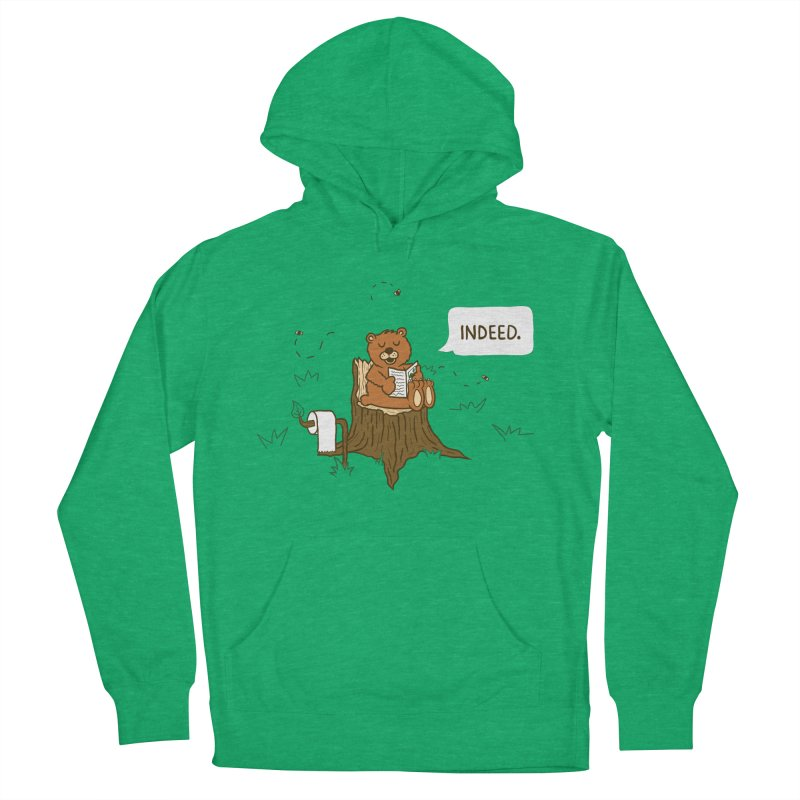 Bear Business Women's Pullover Hoody by Dannomyte's Artist Shop