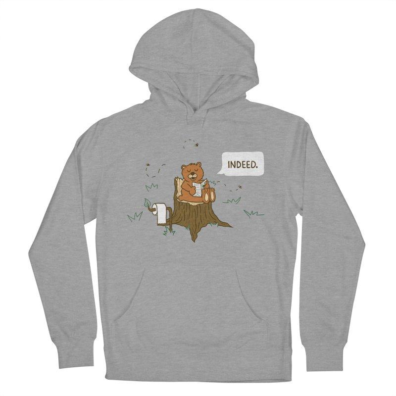 Bear Business Men's Pullover Hoody by Dannomyte's Artist Shop