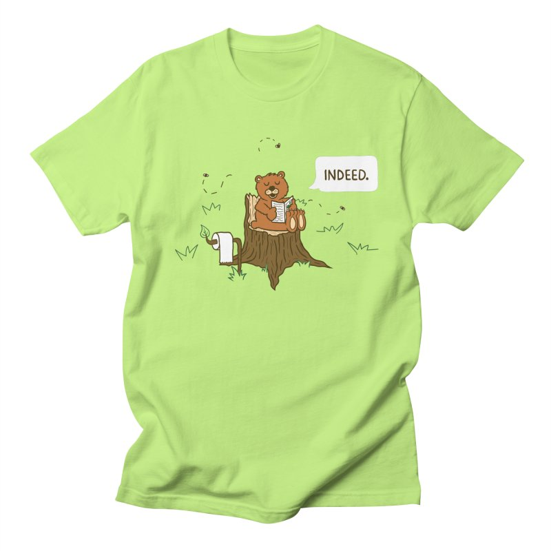 Bear Business Men's T-shirt by Dannomyte's Artist Shop