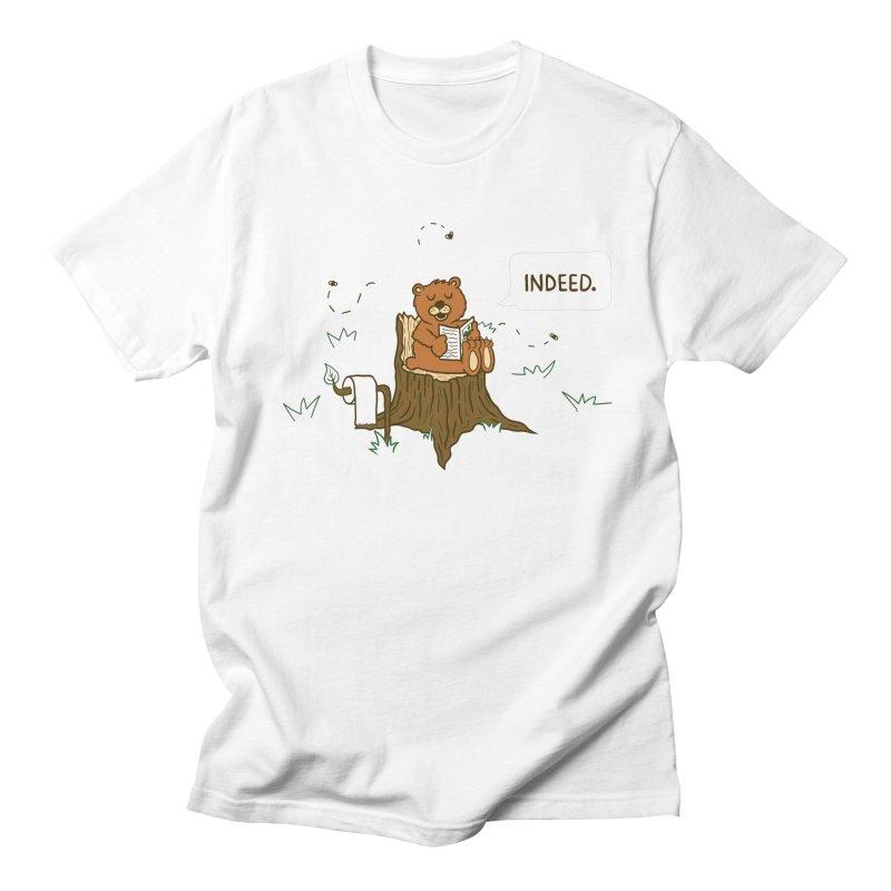 Bear Business Men's T-Shirt by Dannomyte's Artist Shop
