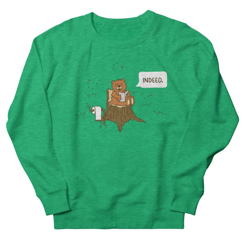 Bear Business Men's Sweatshirt by Dannomyte's Artist Shop