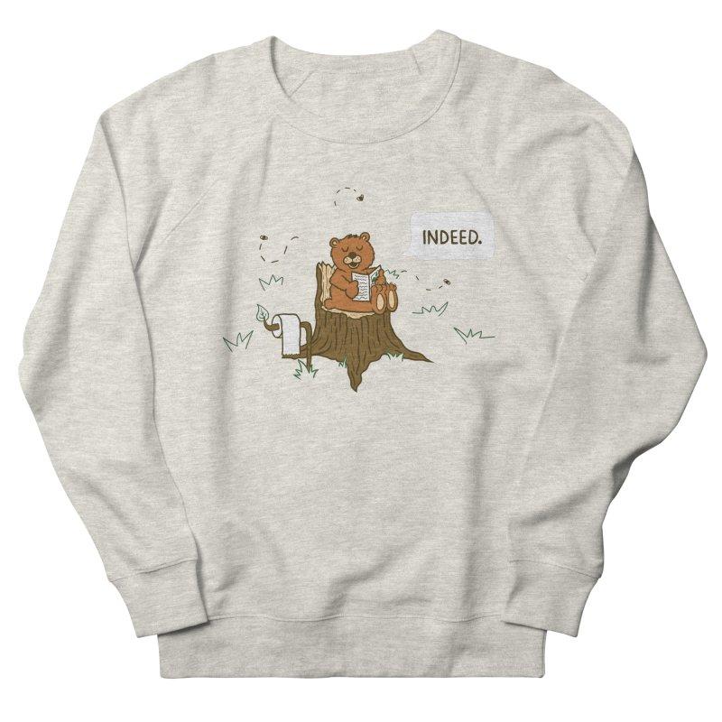 Bear Business Men's Sweatshirt by Dannomyte's Artist Shop