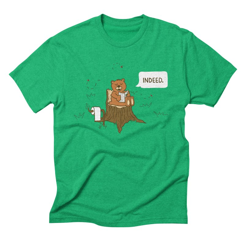 Bear Business Men's Triblend T-Shirt by Dannomyte's Artist Shop