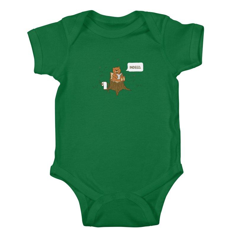 Bear Business Kids Baby Bodysuit by Dannomyte's Artist Shop