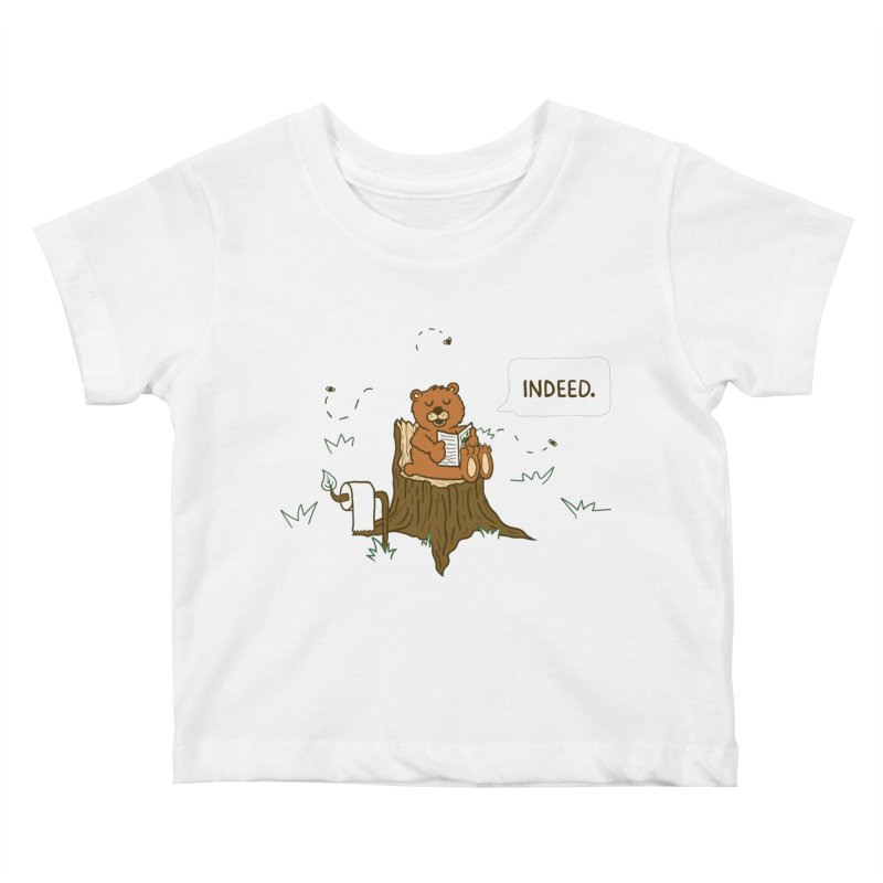 Bear Business Kids Baby T-Shirt by Dannomyte's Artist Shop