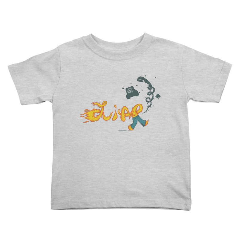 Pants on Fire. Kids Toddler T-Shirt by Dannomyte's Artist Shop