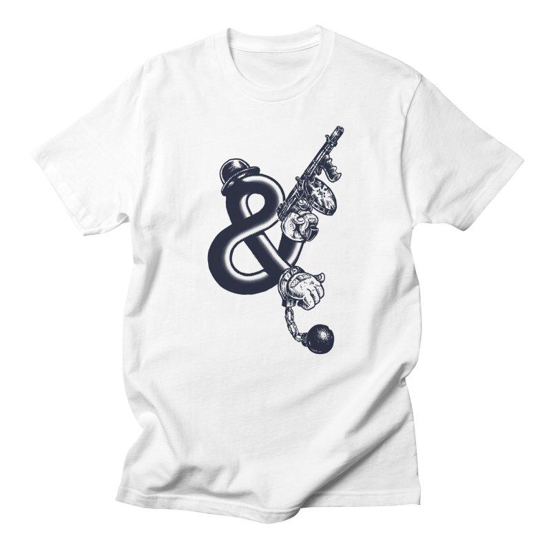 Crime and Punishment Men's T-Shirt by danrule's Artist Shop
