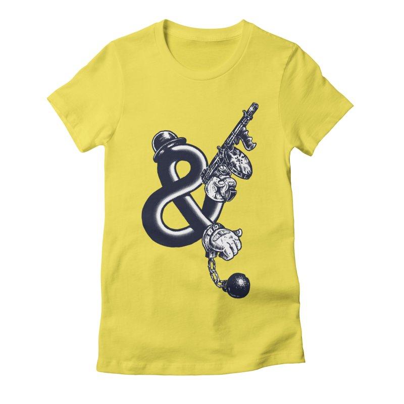Crime and Punishment Women's T-Shirt by Dan Rule's Artist Shop