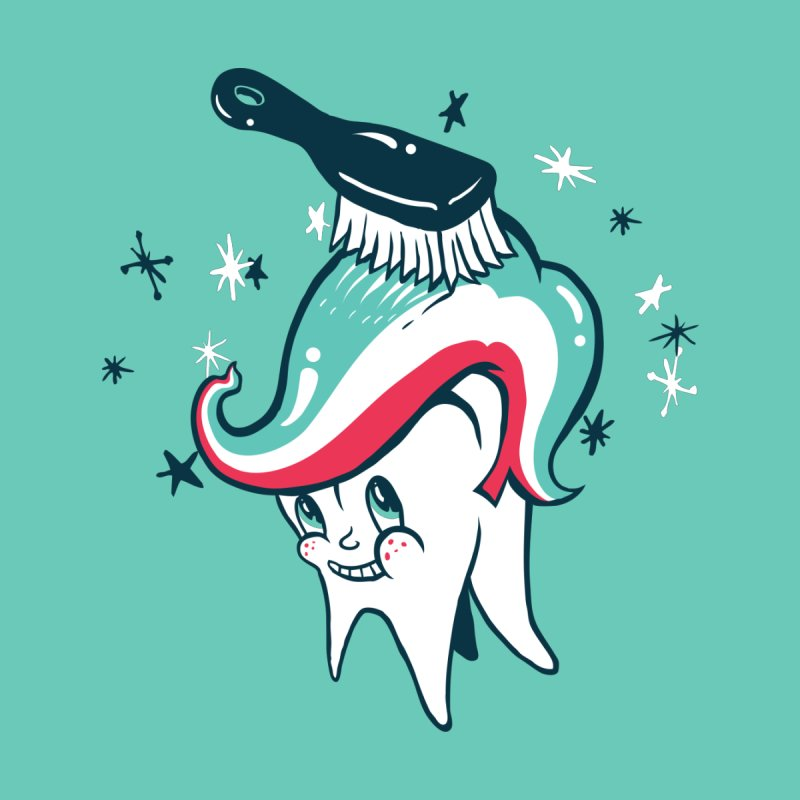 Toothbrush by danrule's Artist Shop