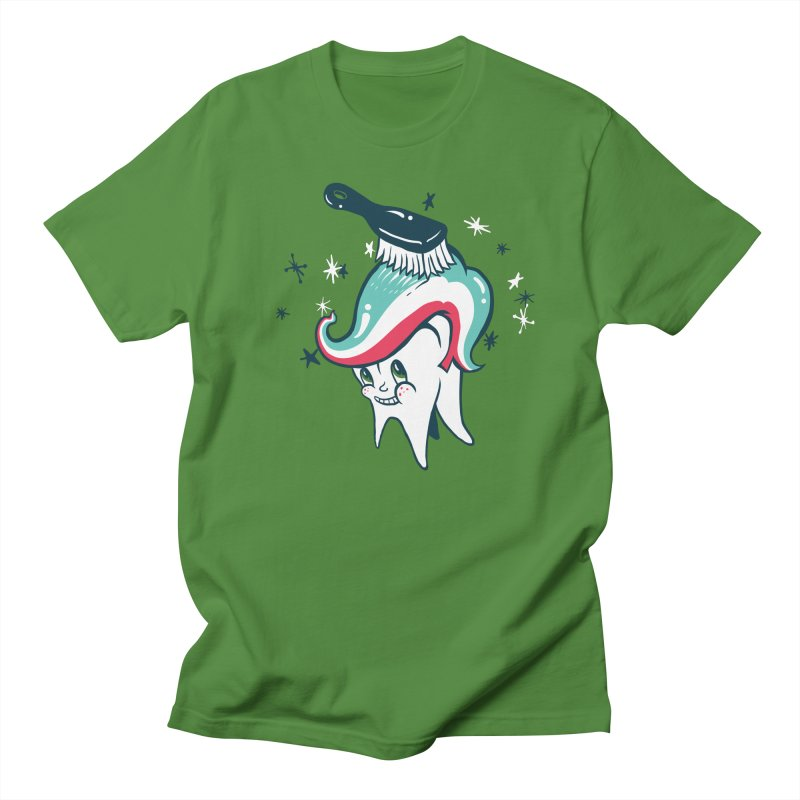 Toothbrush Men's T-Shirt by danrule's Artist Shop