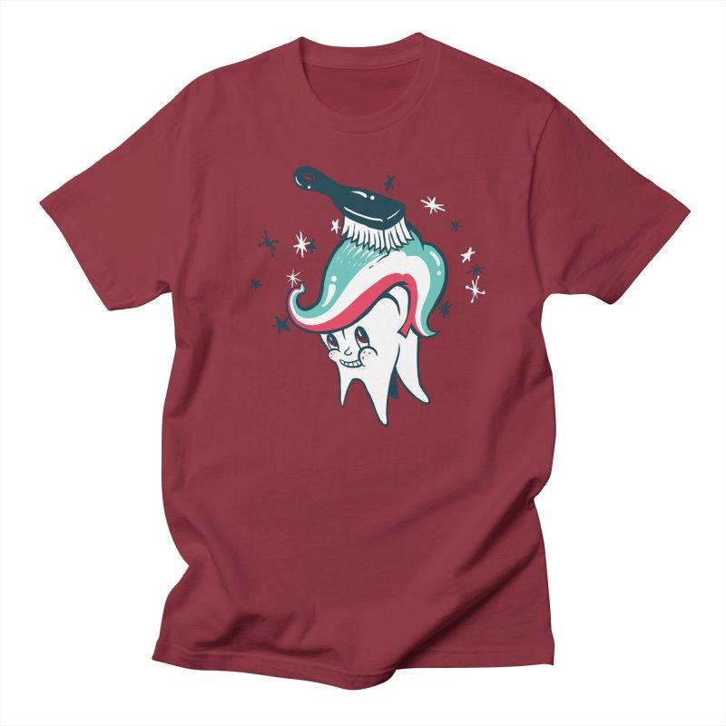 Toothbrush Men's Regular T-Shirt by danrule's Artist Shop
