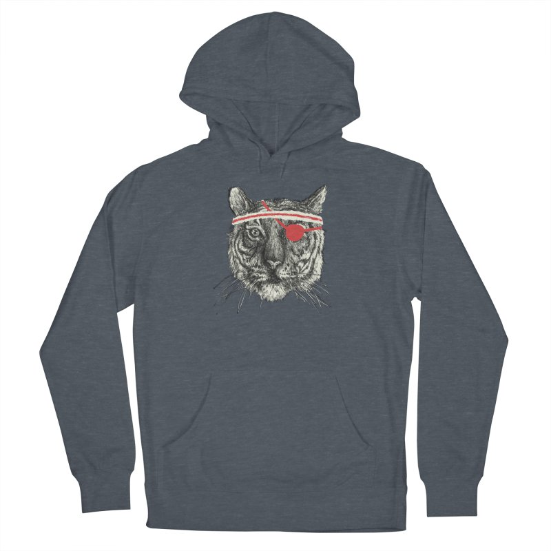 Workout Shirt Men's French Terry Pullover Hoody by Dan Rule's Artist Shop