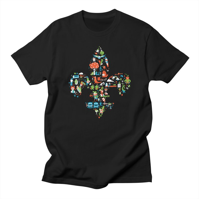 Fleur De Life Women's Regular Unisex T-Shirt by Dan Rule's Artist Shop