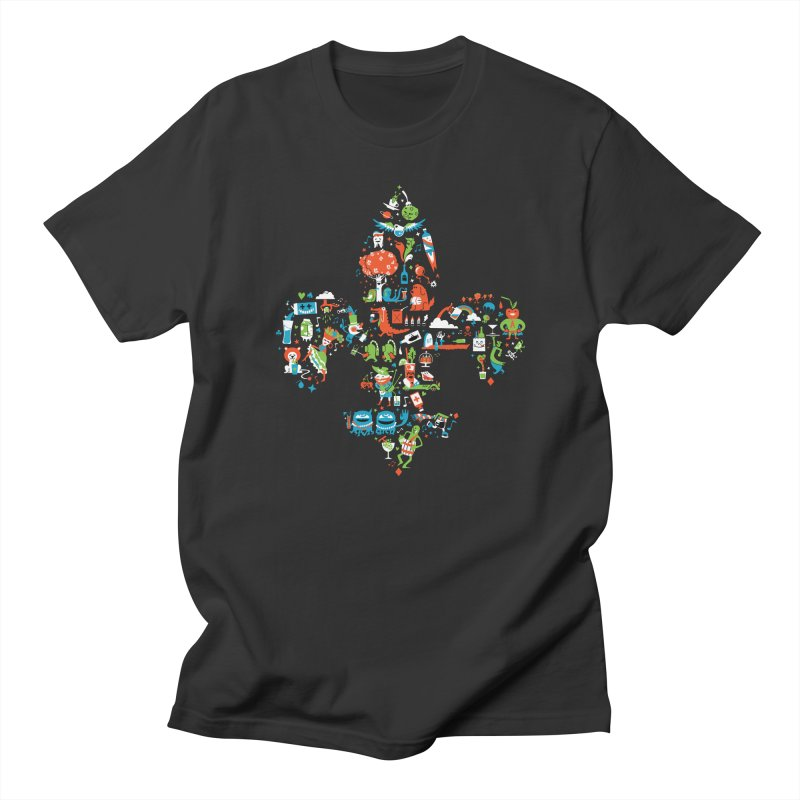 Fleur De Life Men's T-Shirt by Dan Rule's Artist Shop