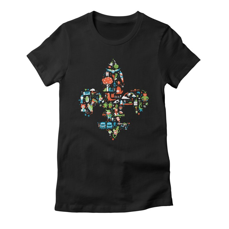 Fleur De Life Women's T-Shirt by Dan Rule's Artist Shop