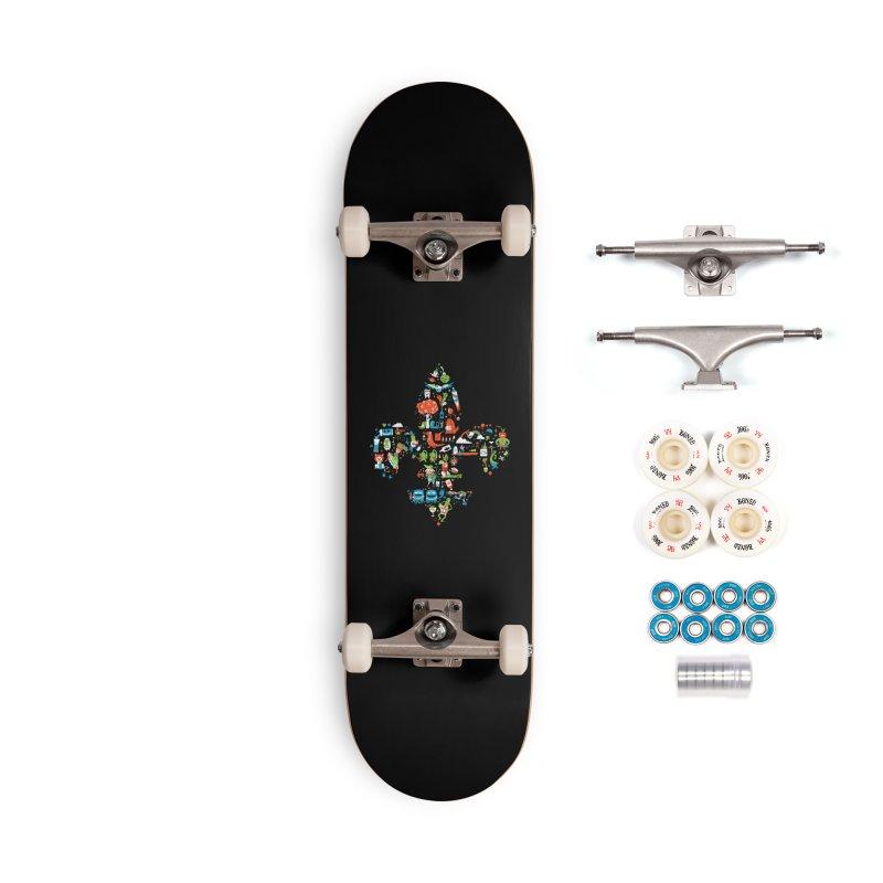 Fleur De Life Accessories Complete - Premium Skateboard by Dan Rule's Artist Shop