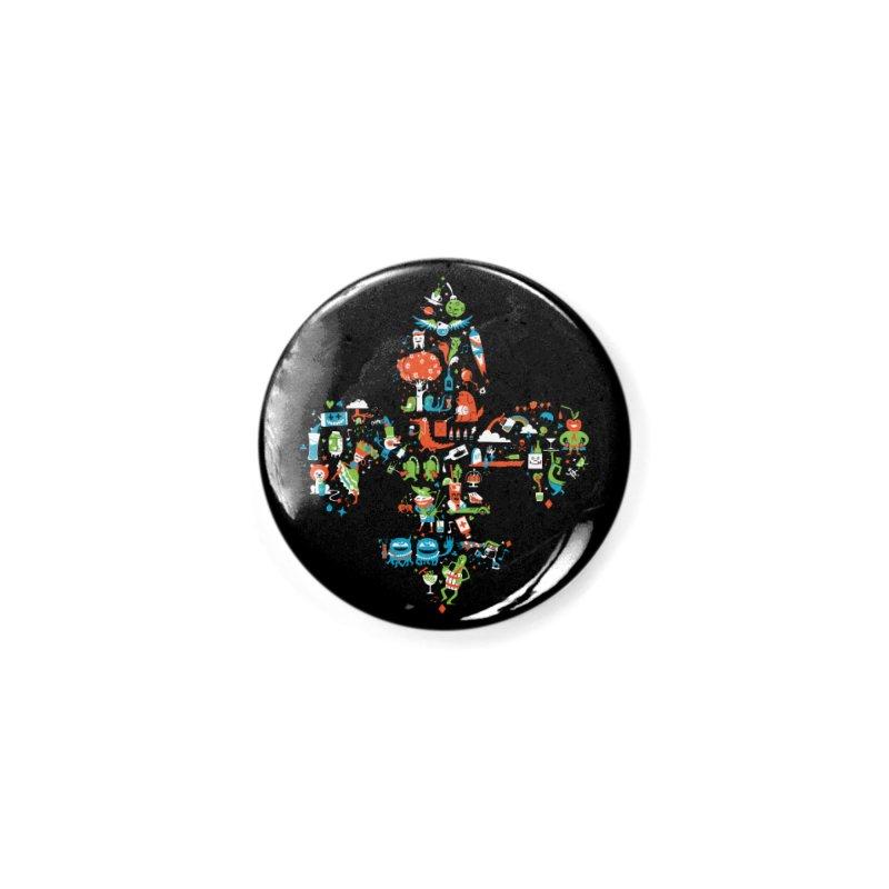 Fleur De Life Accessories Button by Dan Rule's Artist Shop