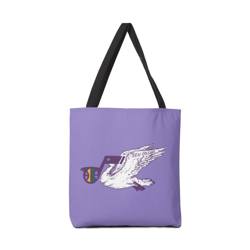 Jazzy Pelican Accessories Tote Bag Bag by Dan Rule's Artist Shop