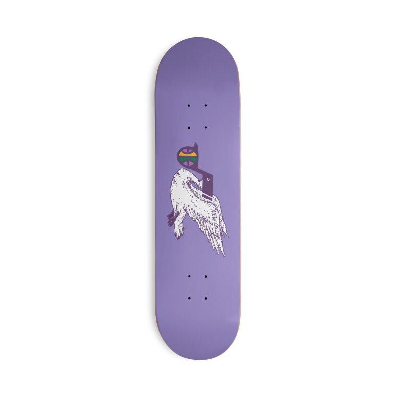 Jazzy Pelican Accessories Skateboard by Dan Rule's Artist Shop