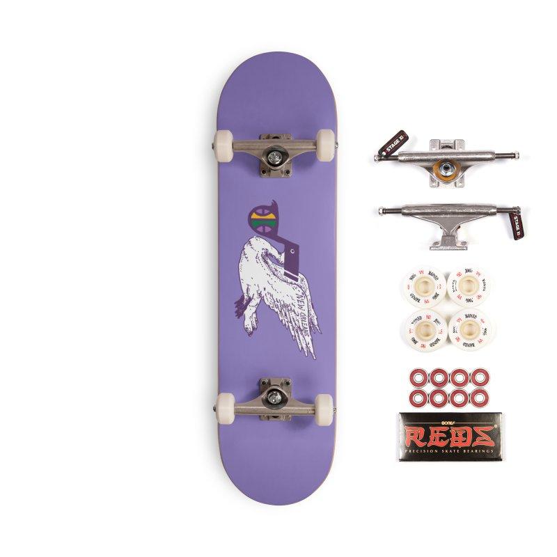 Jazzy Pelican Accessories Complete - Pro Skateboard by Dan Rule's Artist Shop