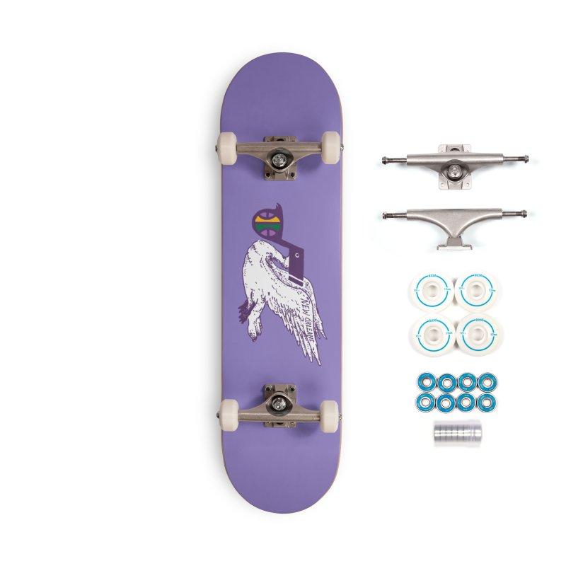 Jazzy Pelican Accessories Complete - Basic Skateboard by Dan Rule's Artist Shop