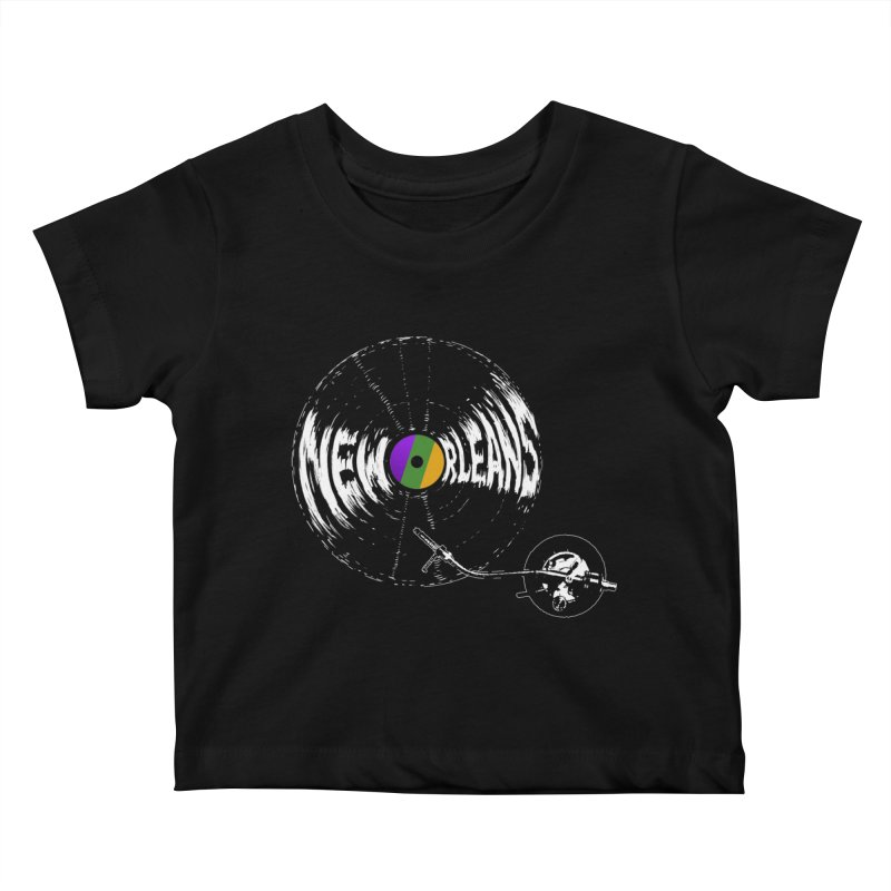 Spin Kids Baby T-Shirt by Dan Rule's Artist Shop
