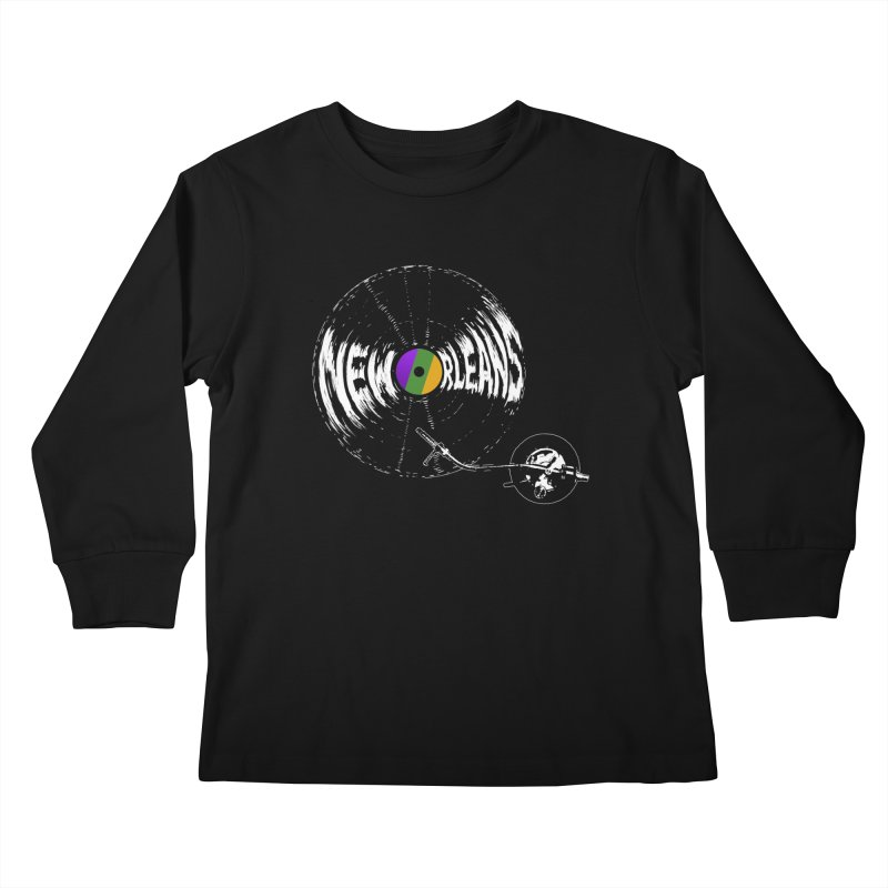 Spin Kids Longsleeve T-Shirt by Dan Rule's Artist Shop