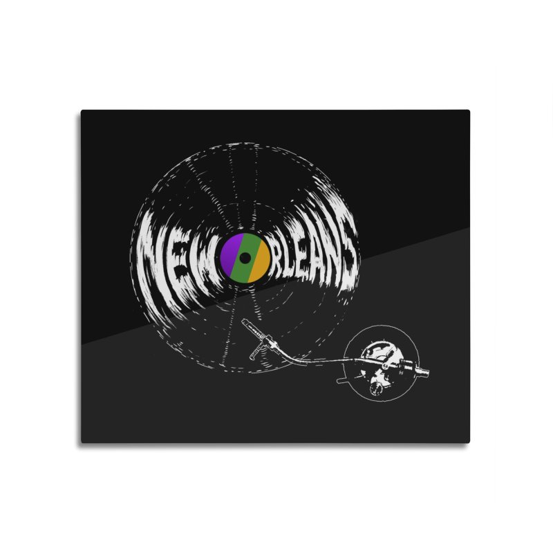 Spin Home Mounted Aluminum Print by Dan Rule's Artist Shop
