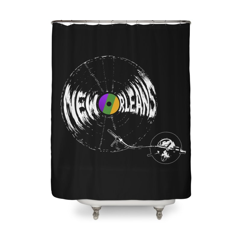 Spin Home Shower Curtain by Dan Rule's Artist Shop