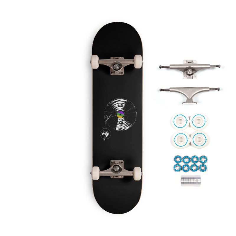 Spin Accessories Complete - Basic Skateboard by Dan Rule's Artist Shop