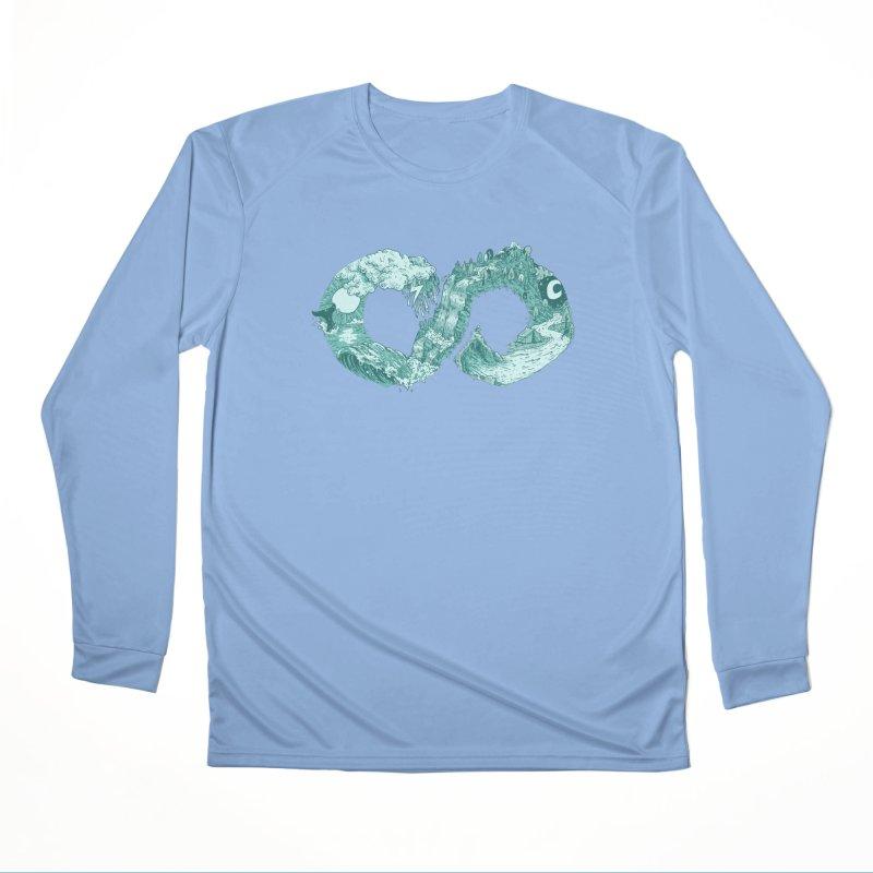 Current Men's Longsleeve T-Shirt by Dan Rule's Artist Shop