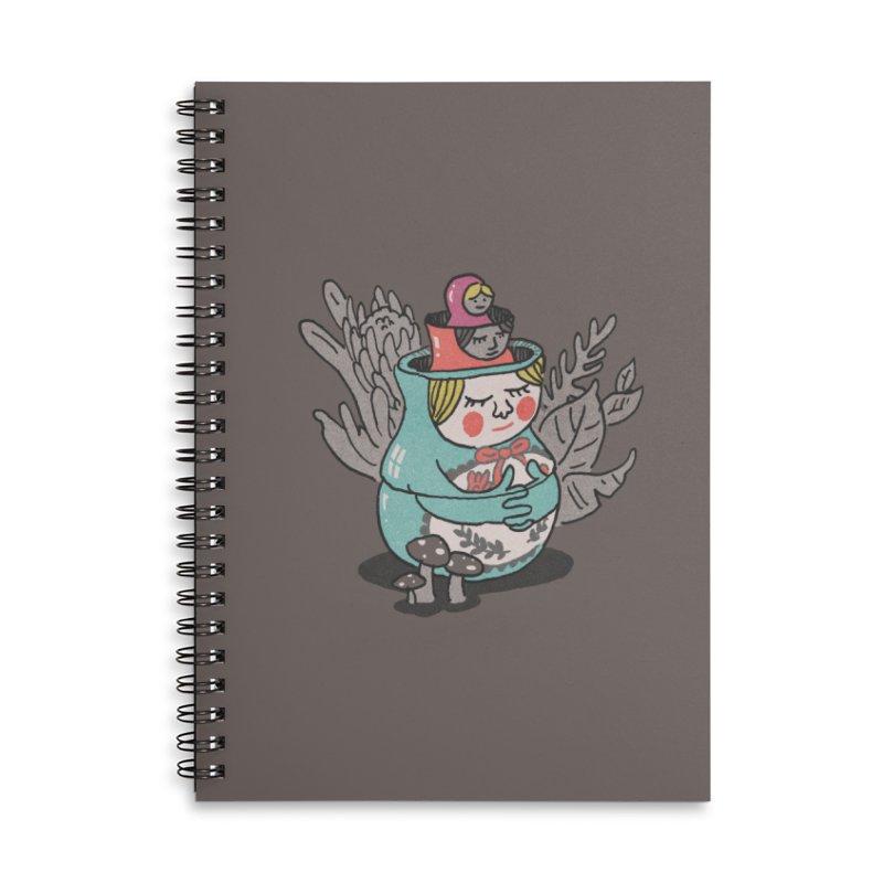 Inner Piece Accessories Notebook by Dan Rule's Artist Shop