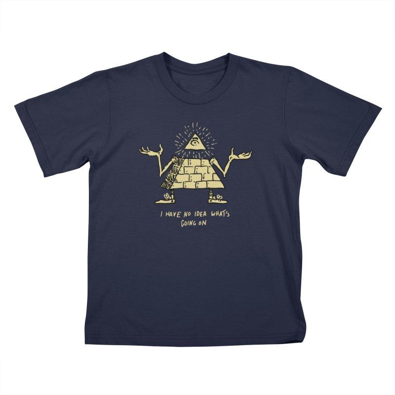 Illumi-not-me Kids T-Shirt by Dan Rule's Artist Shop