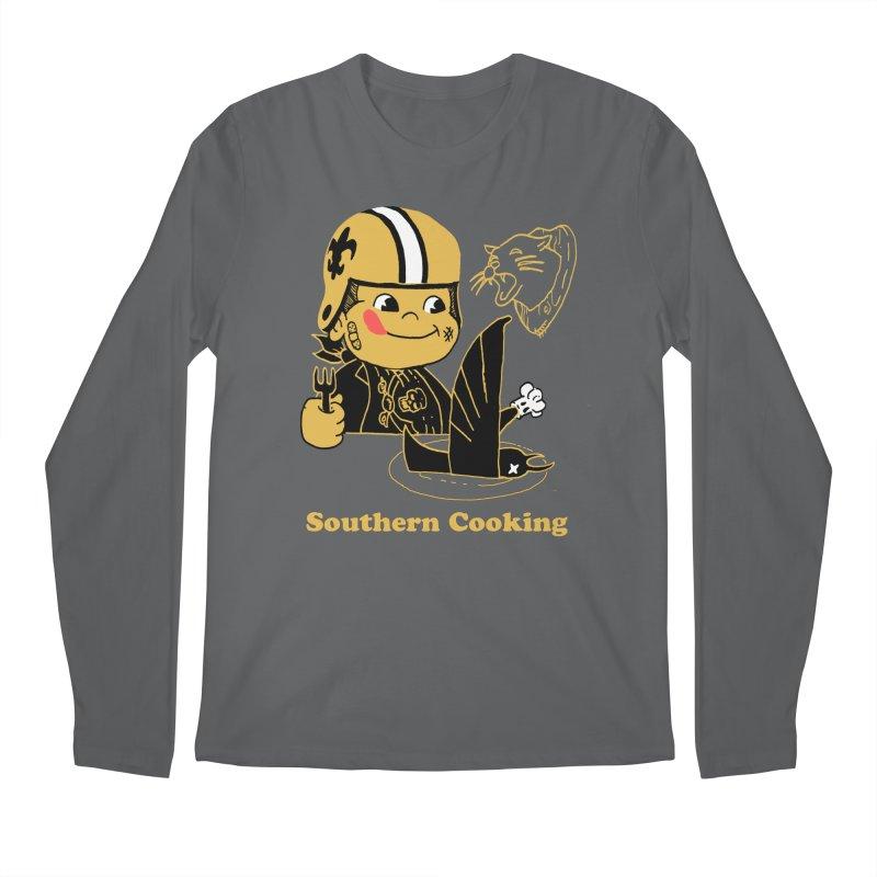 Southern Cooking Men's Longsleeve T-Shirt by Dan Rule's Artist Shop