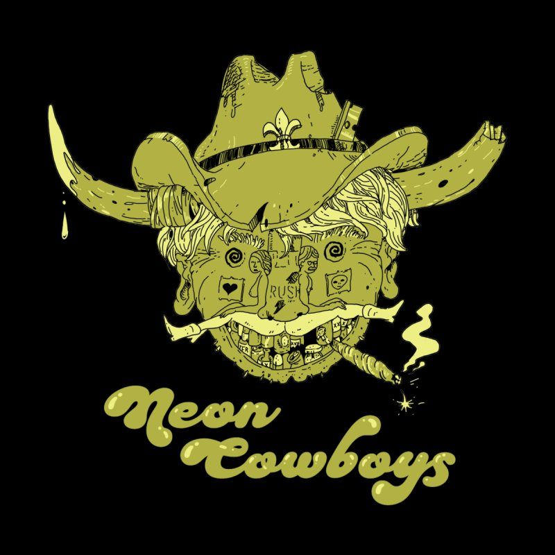 Neon Cowboys Men's T-Shirt by Dan Rule's Artist Shop