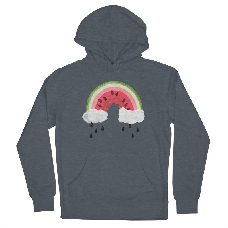 Summer Men's French Terry Pullover Hoody by Dan Rule's Artist Shop